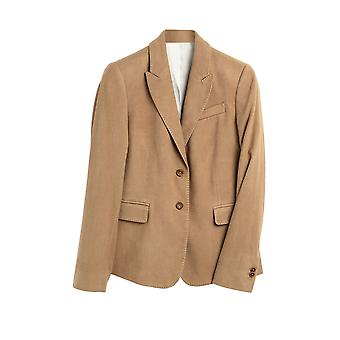 Gant Women's Moleskin Blazer Slim Fit