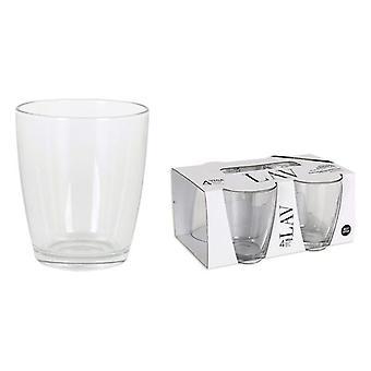 Gläserset LAV Vega 340 ml Crystal (4 Uds)
