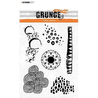 Studio Light Stamp Grunge Collectie 4 0 no.450 STAMPSL450 210x74mm