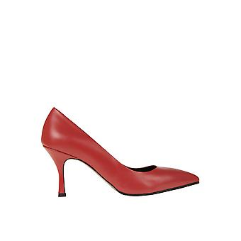 Andrea Pinto Ezgl438003 Women's Red Leather Pumps