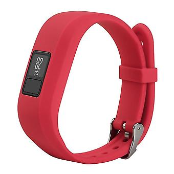 For Garmin Vivofit JR Buckle JR 2 Strap Replacement Wristband Bracelet Band[Red]