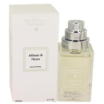 Ailleurs & Fleurs Eau DE Toilette Spray By The Different Company 3 oz Eau DE Toilette Spray