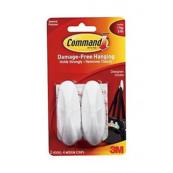 Command Designer Hook (Pack of 2)