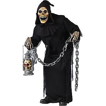 Zombie grav Adult kostym