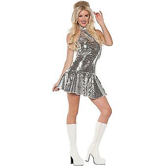 Retro dansare Adult kostym