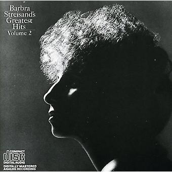 Barbra Streisand - Greatest Hits Vol. 2 [CD] USA tuonti