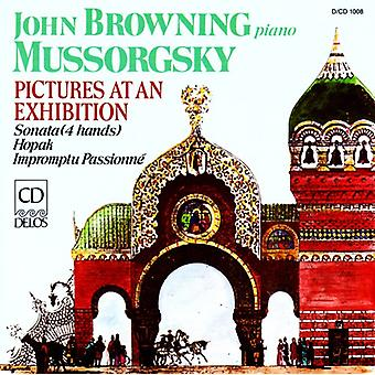 M. Mussorgsky - Mussorgsky: Pictures at an Exhibition [CD] USA import