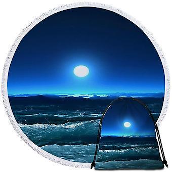 Maanlicht Oceaan strandlaken