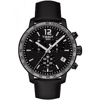 Tissot T095.417.36.057.02 Chronograph Black Dial Men's Watch