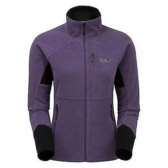 OEX Women's Igneous Stretch 250 Fleece Jacket Purple