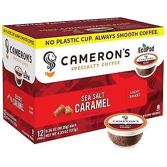 Cameron's Specialty Coffee Sea Salt Caramel Single Serve Pods