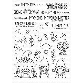 My Favorite Things Hanging with My Gnomies Clear Stamps