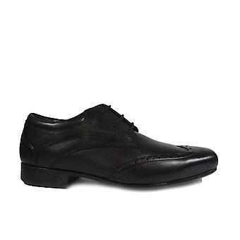 החלק startrite הבנים עור שחור הנערים לבוש חכם נעלי בית הספר