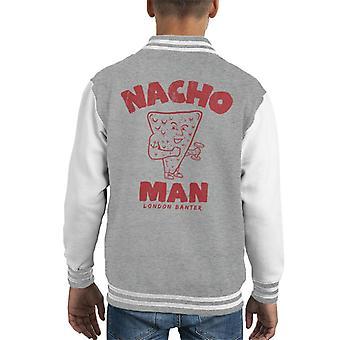 London Banter Nacho Man Kid's Varsity Jacke