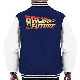 Back To The Future Classic Logo Men's Varsity Jacket