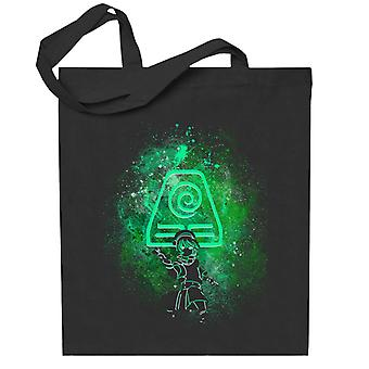 Avatar The Last Airbender Toph Art Earth Symbol Totebag