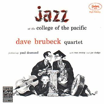 Dave Brubeck - Jazz vid College of Pacific [CD] USA import