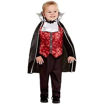 Kleinkind Vampir Kostüm Kleinkind rot