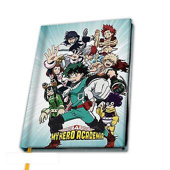 Minun Sankari Academia Heroes A5 Notebook