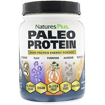 Nature-apos;s Plus, Poudre de protéine Paléo, Non aromatisée et non sucrée, 1,49 lb (675 g