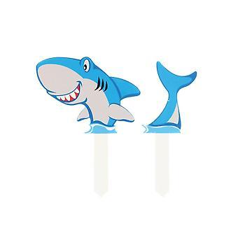 Culpitt Shark Gumpaste Pic - 2 Peças