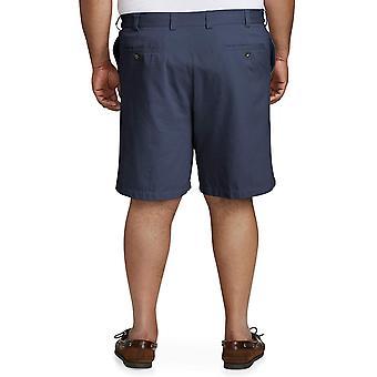 Essentials Men's Big & Tall Flat-Front Short, Marinha, 44