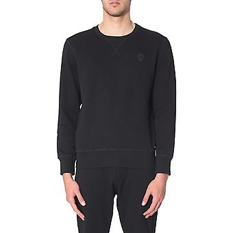 Alexander Mcqueen 575467qnx431000 Män's Svart Bomull Sweatshirt