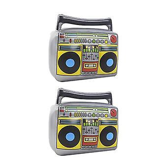 Jouet gonflable de forme de radio pour des événements de thème de musique