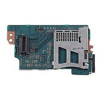 Memory card reader slot & wifi pcb board for psp 1000 sony console model ms-299 internal replacement | zedlabz