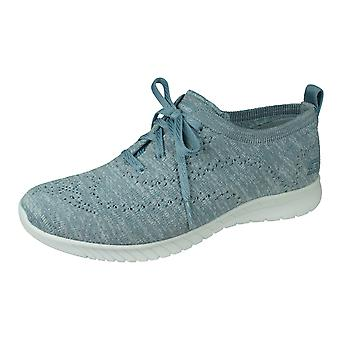 Skechers Wave Lite On My Level Womens Trainers / Yoga Shoes - Blue