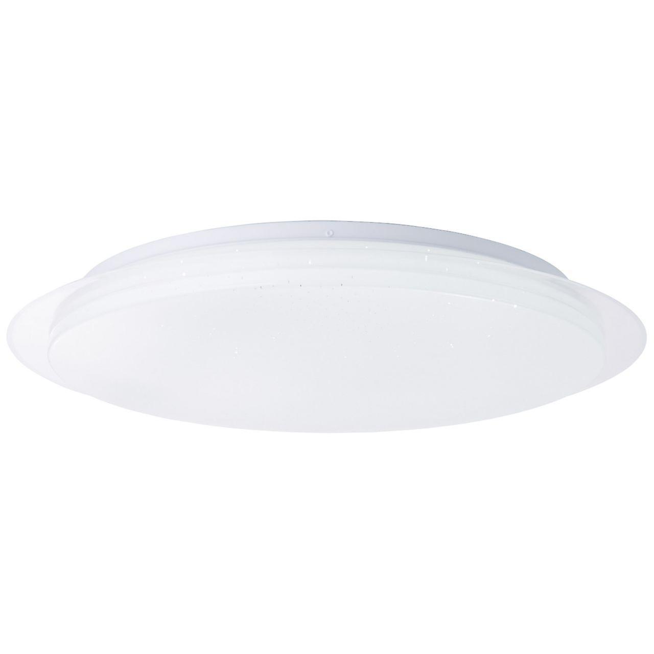 Brelight Lampe Vittoria LED Wand- und Deckenleuchte 57cm weiß | 1x 60W LED integriert, (4390lm, 3000-6000K) | Skala A++ bis E | Inklusive Fernbedienung