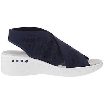 Easy Spirit Women's Shoes Blast2 Fabric Open Toe Casual Mule Sandals