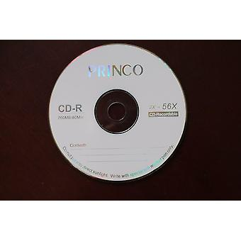 Grade A X52 700mb Blank Princo Printed Cd-r Disc