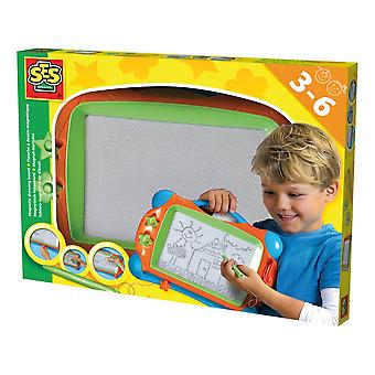 SES Creative Magnetic Drawing Board Unisex Ages Three to Six Years Multi-color