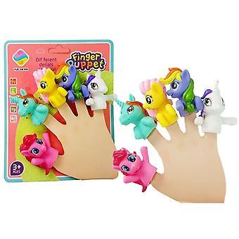 Finger pads Unicorns 5 st