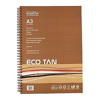 Seawhite Eco Tan Corn Crush Paper Pad A3