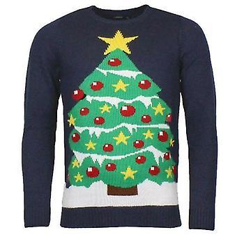 Unisex Xmas Weihnachtsbaum Pullover