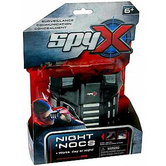 Spyx night nocs, LED lights, for children age 6 years and up-black