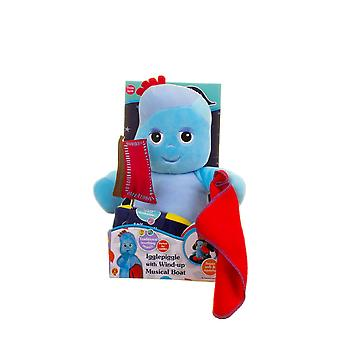 in the night garden soft igglepiggle with wind up musical boat suitable from