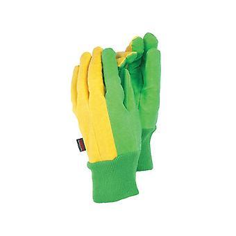 Town & Country TGL209 The Gardener Gloves Green/Burgundy T/CTGL209