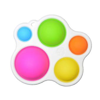 Baby Board Exercise, Rattle Puzzle Colorful Intelligence Development Board