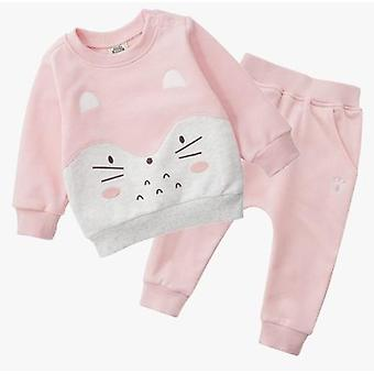 Spring Autumn Baby Sweater Winter Clothes Sports Suit, Kids Sweater Fleece Baby