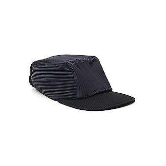 Homme Plissé By Issey Miyake Hp09aa50313 Men's Black Fabric Hat