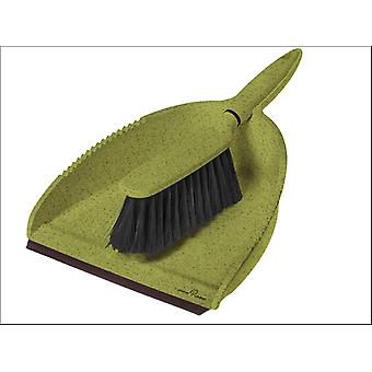 Greener Cleaner Greener Cleaner Dustpan & Brush Green GCB008GREEN