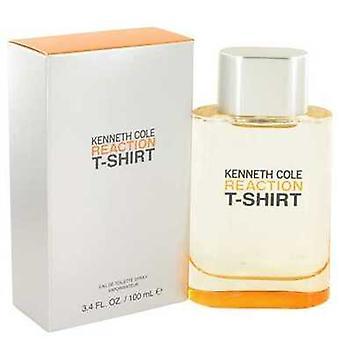 كينيث كول رد فعل تي شيرت من قبل كينيث كول أو دي Toilette رذاذ 3.4 أوقية (رجال) V728-462148