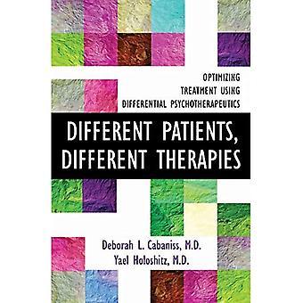 Pazienti diversi, terapie diverse: ottimizzazione del trattamento con psicoterapeuetiche differenziali
