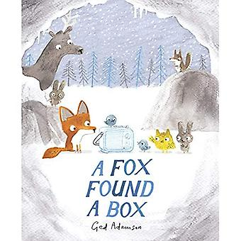 En rev fant en boks