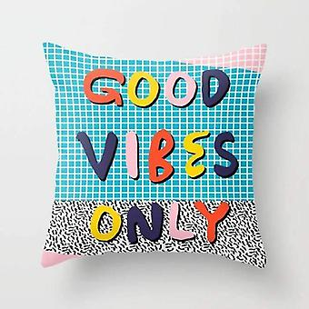Good Vibes Only - Pillow Cover