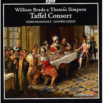 Brade/Simpson - Taffel Consort: Instrumental Works by Thomas Simpson & William Brade [CD] USA import