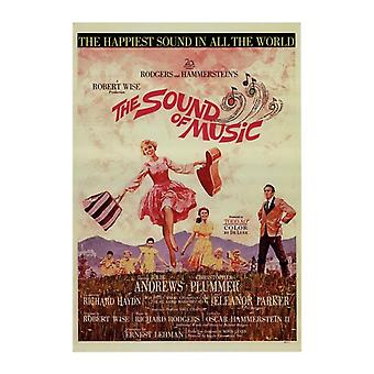 The Sound of Music Movie Poster (11 x 17)